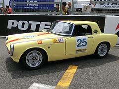 ホンダ・S800RSCレースカー左側面