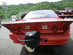 ドラッグマシン日産スカイラインGT-R(R32)リヤビュー