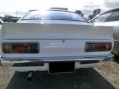 日産サニー1200GX5(B110)リヤビュー