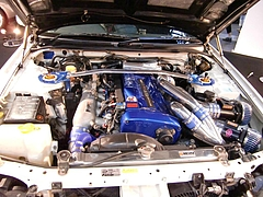 フェニックスパワーR34GT-Rエンジンルーム