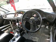 HKS86(ZN6)運転席