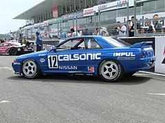 カルソニックスカイラインGT-R(R32)左側面