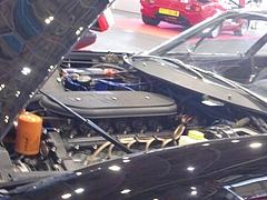 フェラーリ365GTB/4エンジンルーム