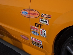 フォード マスタングGT右側面ステッカー