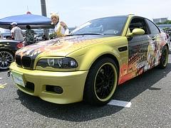 痛車BMW・M3(E46)左前
