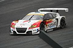 無限ホンダCR-Z GT鈴鹿ホームストレート