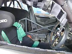スバル インプレッサSTiニュル24時間耐久レース参戦車両車内