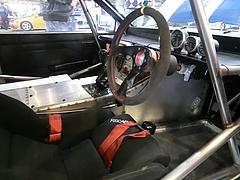SSワークスelfレビン(AE86)車内