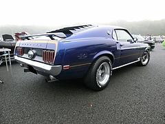 1969年式フォード・マスタング マッハ1右後ろ