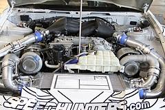ベンソープラ380SXエンジンルーム