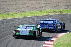 スバルBRZ R&Dスポーツ GT300 鈴鹿逆バンクコーナー�