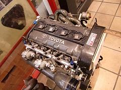 トヨタ 3S-GTEエンジン1