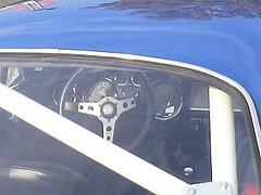 アルピーヌA110運転席