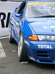 カルソニックスカイラインGT-R(R32)右側面
