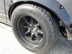 日産フェアレディ240ZGリヤタイヤ