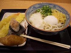 丸亀製麺とろ玉うどん
