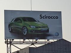 VWシロッコ看板