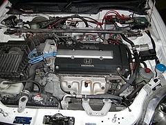 吉井くんシビックSiR B16Aエンジン
