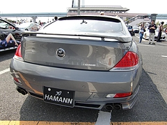 BMW6シリーズ ハーマン仕様リヤビュー