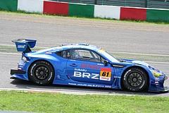 スバルBRZ R&Dスポーツ GT300鈴鹿2コーナー