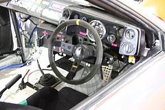トヨタ・カローラレビンN2仕様(AE86)運転席