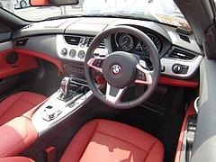 BMW Z4運転席