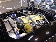 ロッキーオート フェアレディZ(S30)エンジンルーム