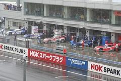 GT500クラス ホンダ勢