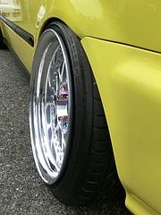 ホンダ・シビック タイプR(EK9)リヤタイヤ