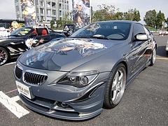 BMW6シリーズ ハーマン仕様左前
