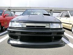トヨタ カローラ・レビン(AE86)フロントマスク