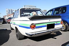 BMW2002tiリヤビュー