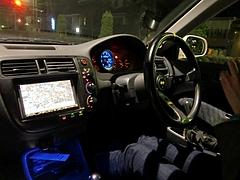 シビック タイプR(EK9)車内