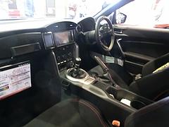 トヨタ86(ZN6)車内