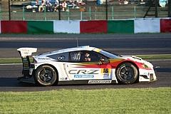 無限ホンダCR-Z GT鈴鹿2コーナー�