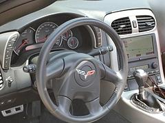 シボレー コルベット タルガトップ(C6)運転席