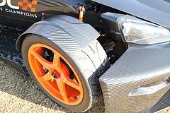 フロントマスクKTM・X-BOWフロントタイヤ