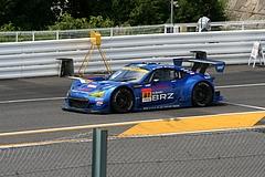 スバルBRZ R&Dスポーツ GT300鈴鹿ピットレーン出口