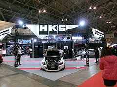 東京オートサロンHKSブース