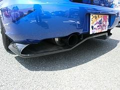 痛車スバル・インプレッサWRX STi(GRB)マフラー