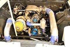 サカモトエンジニアリングRX-7(FD3S)エンジンルーム