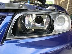 日産スカイラインGT-R(BCNR33)ヘッドライト