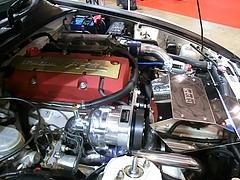 HKS・S2000エンジンルーム