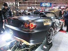 HKS・S2000右後ろ