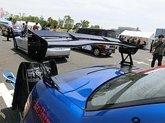 痛車スバル・インプレッサWRX STi(GRB)GTウィング