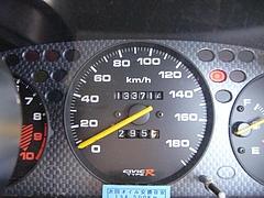 20091031給油時のメーター