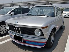 BMW2002ターボ左前