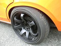 ダットサン・サニー(B210) リアタイヤ