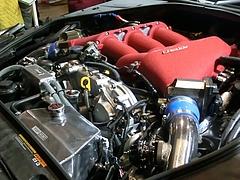 トラスト グレッディ35RXコンセプト エンジンルーム