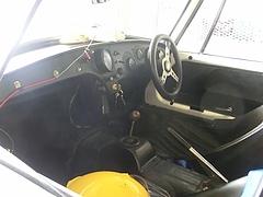 トヨタ・スポーツ800(UP15)車内